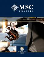 MSC Cruises Brochures
